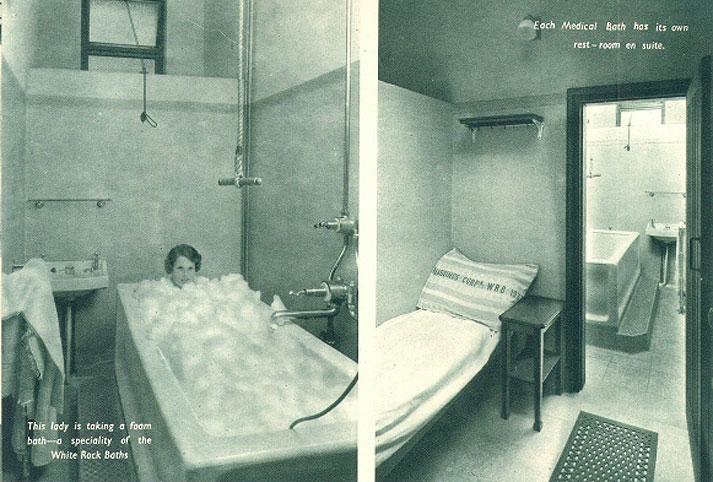 White Rock Medical Baths - Hastings UK Photo Archive