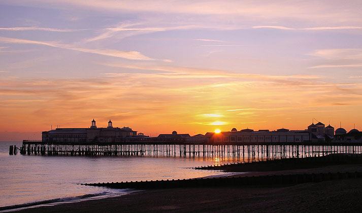 Hastings Pier Sunset