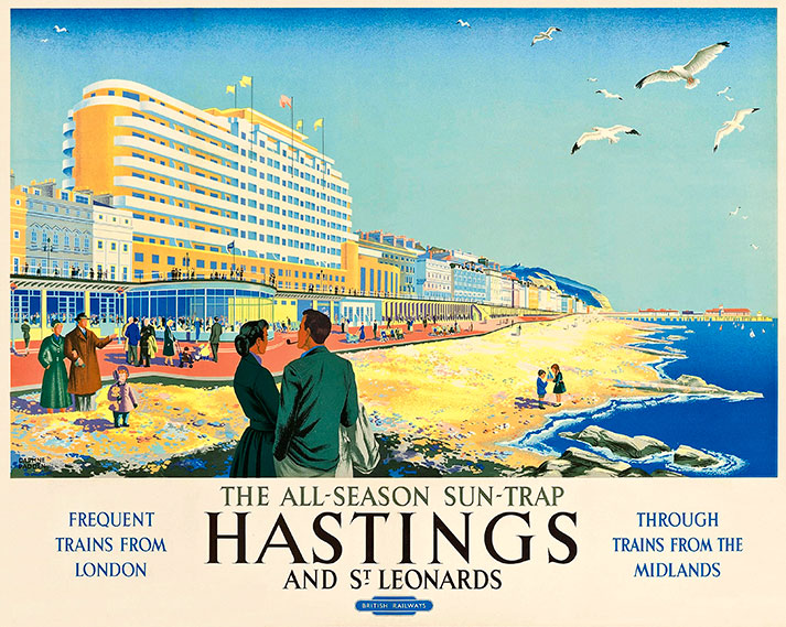 Hastings & St Leonards British Rail Poster