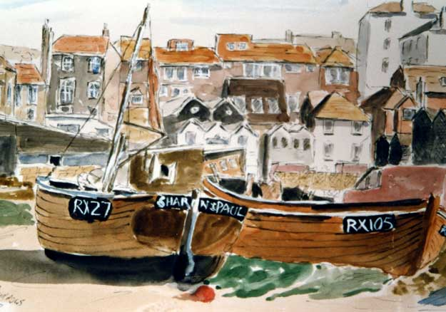 Fishing Boats Hastings