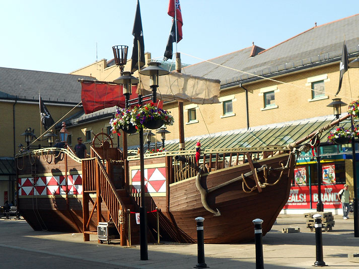 Priory Meadow Pirate Ship