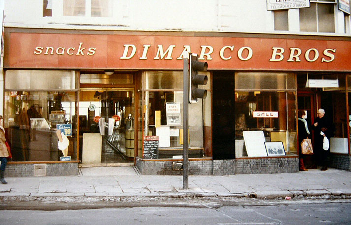 dimarco bros cafe hastings uk photo archive. Black Bedroom Furniture Sets. Home Design Ideas
