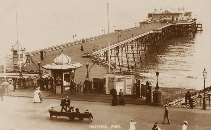hastings pier hastings uk photo archive. Black Bedroom Furniture Sets. Home Design Ideas