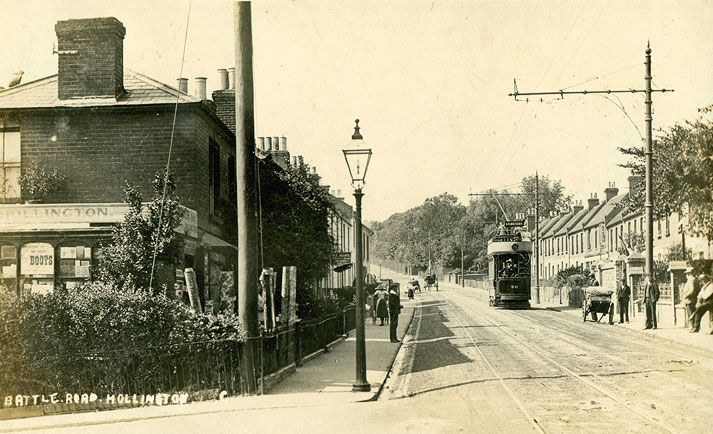 Battle Road, Hollington