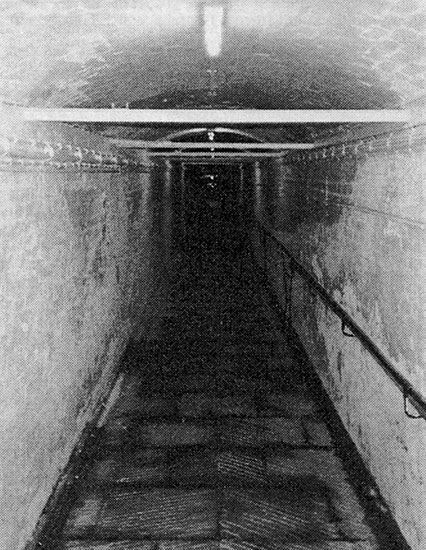 St Helens Hospital Tunnel