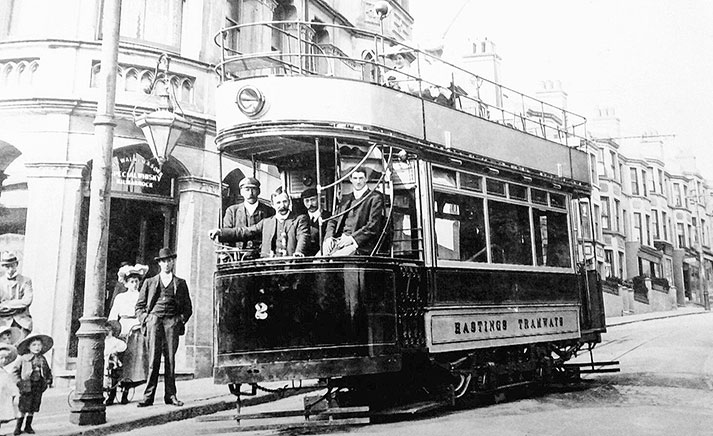 Tram No.2 at The Langham Hotel