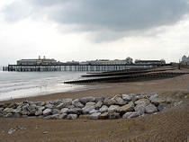 Hastings Pier from Carlisle Parade