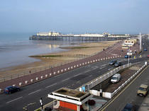 Hastings Pier from the Chatsworth Hotel