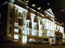 Royal Victoria Hotel at Night