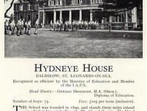 Hydneye House Advert