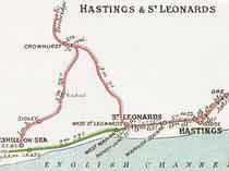1908 Railway Map
