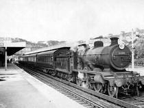 Hastings Station Steam Train