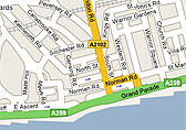 Google Hastings Map